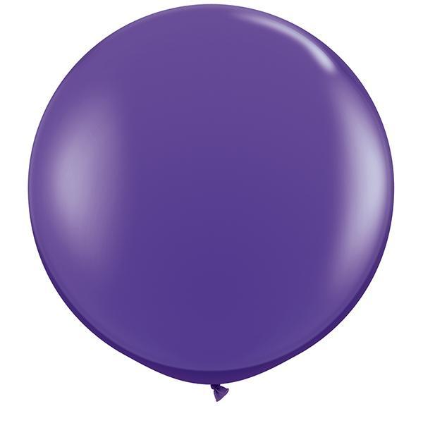 Riesenballon violett