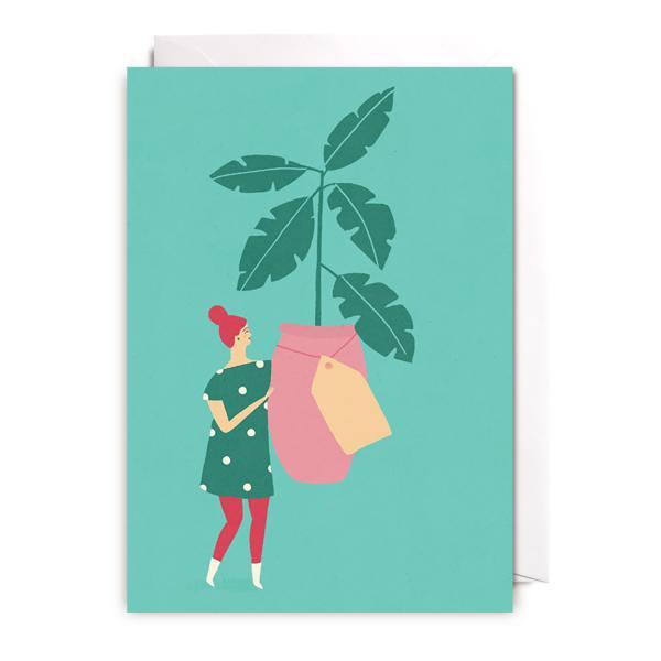 Grußkarte A Plant