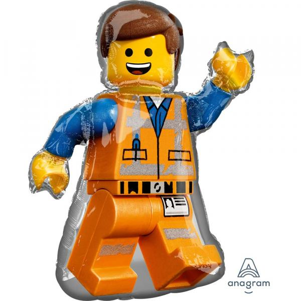 Lego Movie Emmet Folienballon