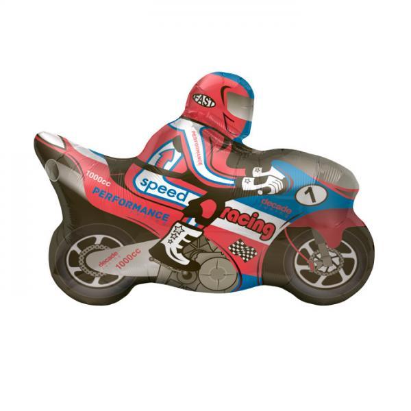 Motorrad Folienballon