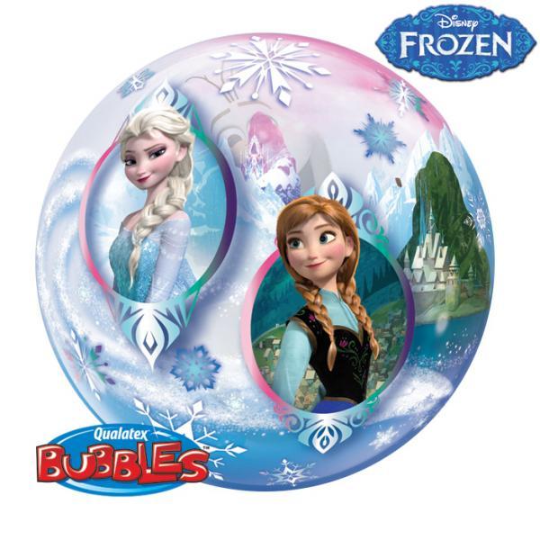 Disney Eiskönigin Frozen Elsa Anna und Olaf Bubble Ballon