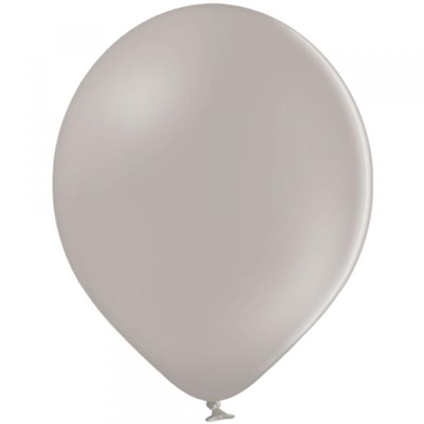 Luftballon Pastell Grau
