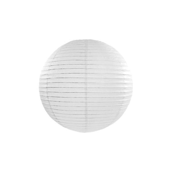 Lampion Weiß 25cm