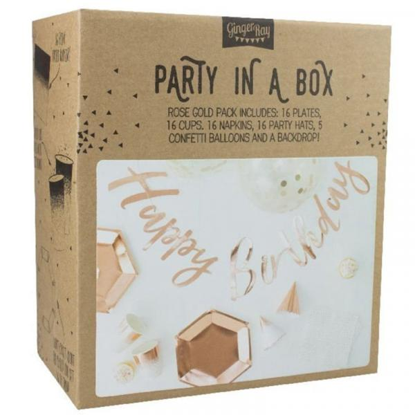 Party in a Box Rosegold