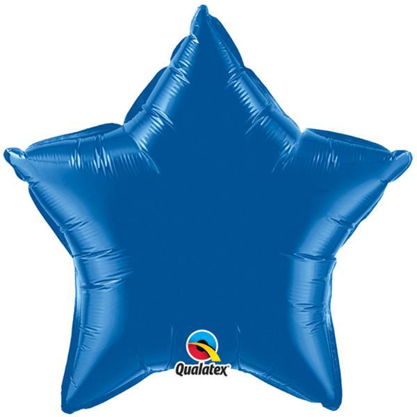 Sternballon Blau