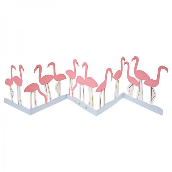 Flamingo Grußkarte