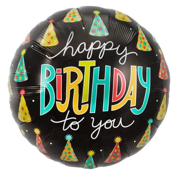 Geburtstagshüte Folienballon