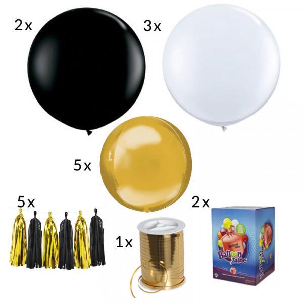Silvester Ballon Set