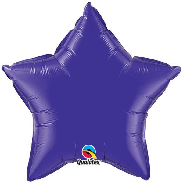 Sternballon Violett