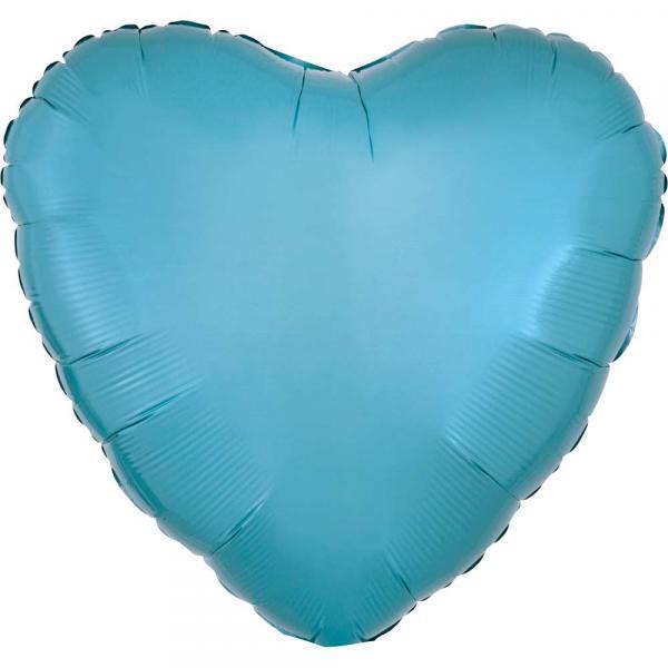 Folienballon Caribbean Blau