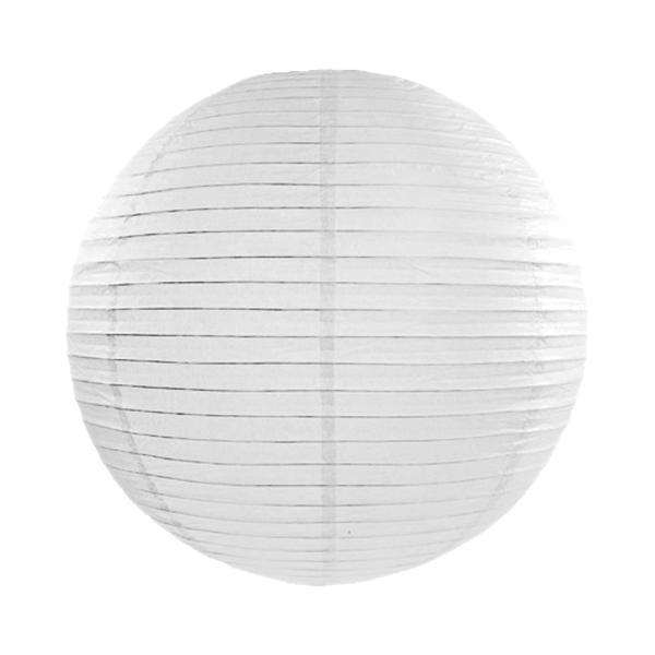 Lampion Weiß 45cm