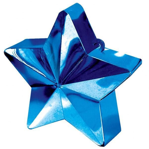 Ballongewicht, Sternform, Blau
