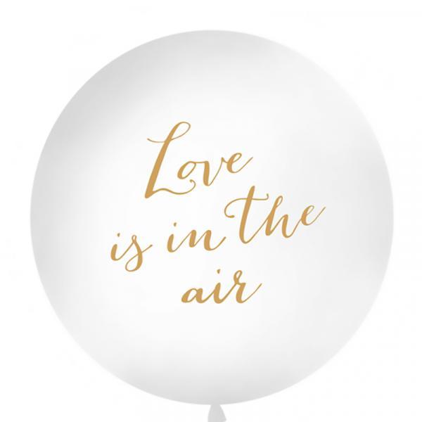 Riesenballon Love is in the air