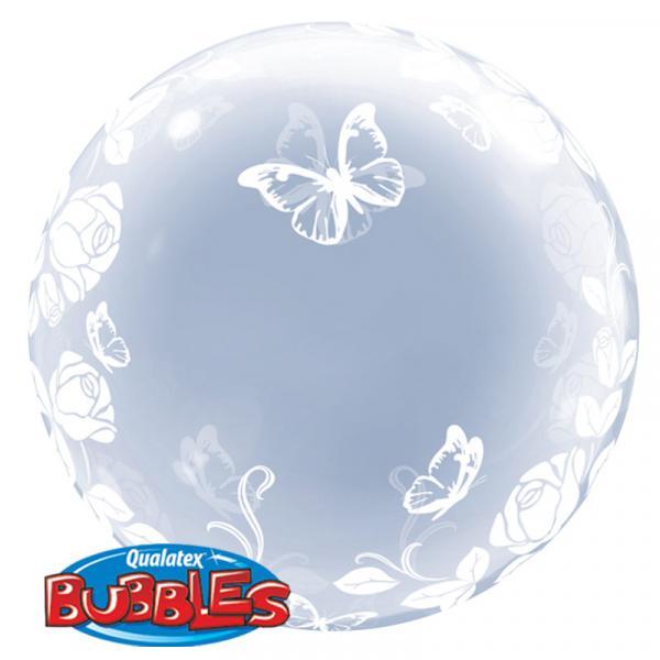 Bubble Ballon Schmetterlinge