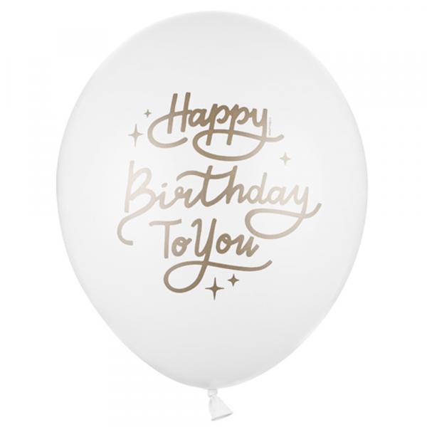 HAPPY BIRTHDAY TO YOU Luftballon