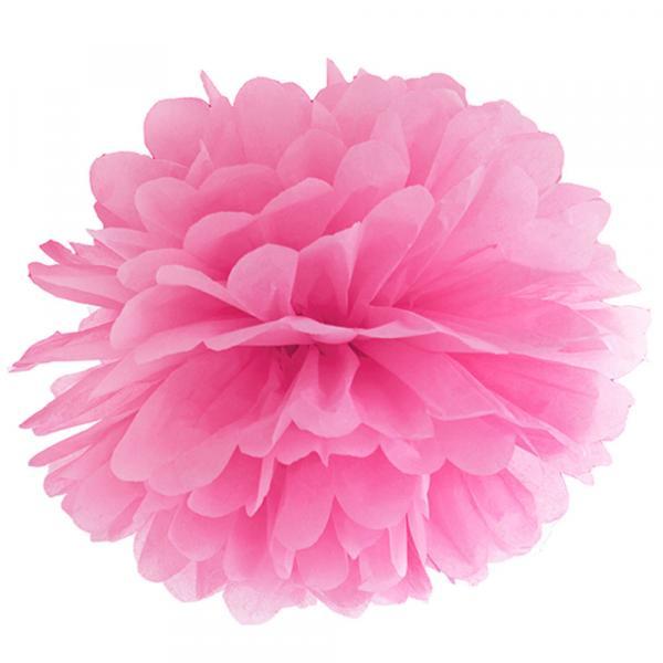 PomPom Pink 35cm
