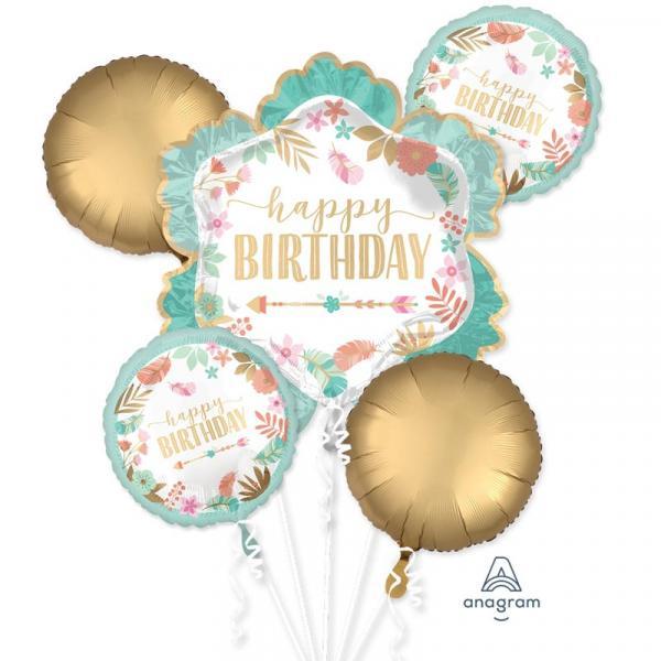 Happy Birthday Ballon Bouquet