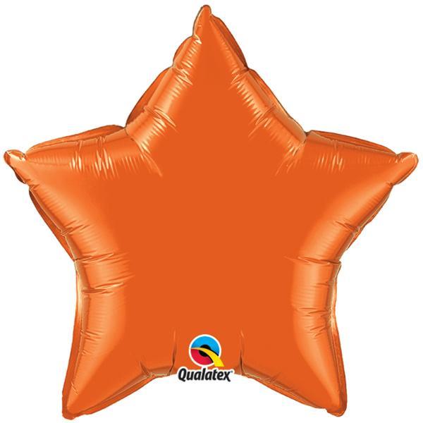 Sternballon Orange