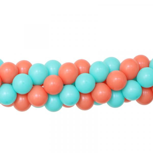 Ballongirlande zweifarbig