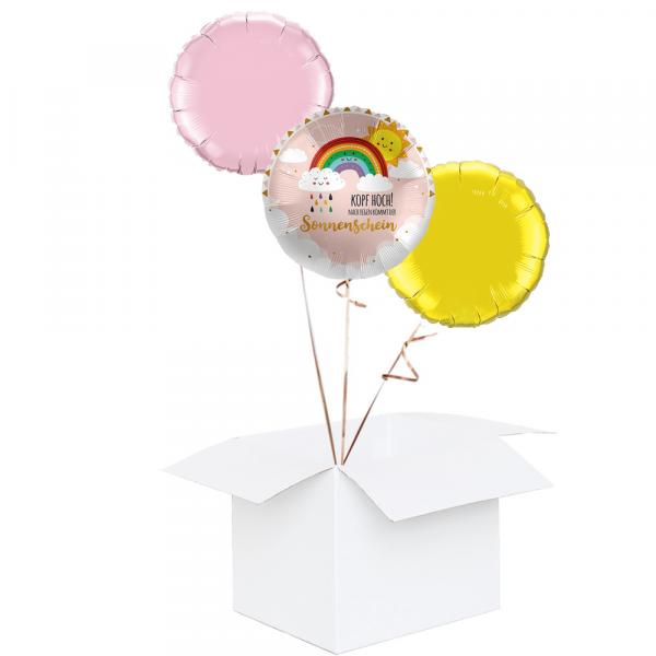 Ballonbox Sonnenschein