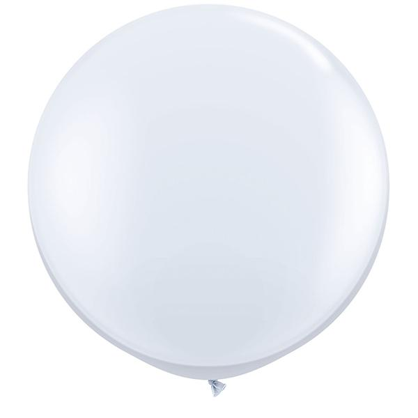 Riesenballon Weiß
