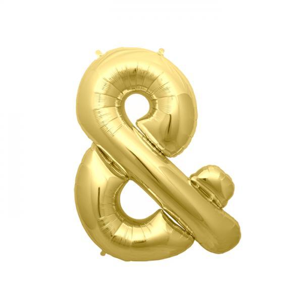 & Ballon Gold