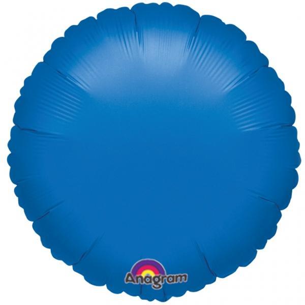 Folienballon Rund Blau