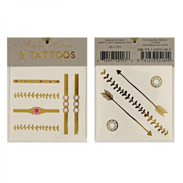 Armbänder und Schmuck Tattoos
