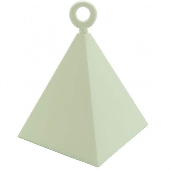 Gewicht für Ballon weiß Pyramide