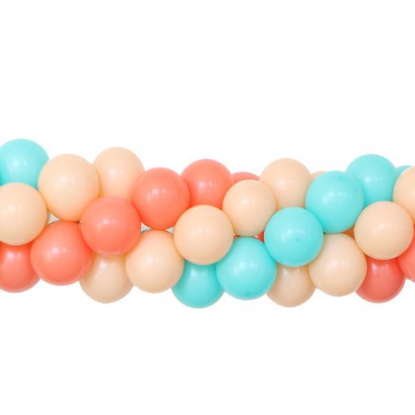 Ballongirlande dreifarbig