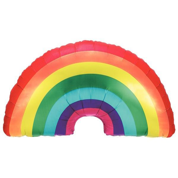 Regenbogen Folienballon