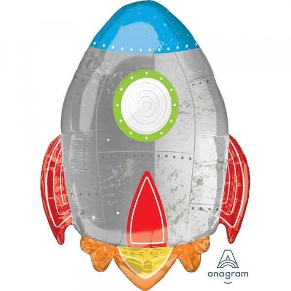 Rakete Foliemnballon