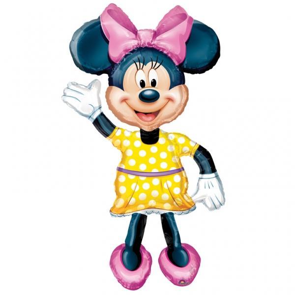 Minnie Mouse Folienballon Airwalker