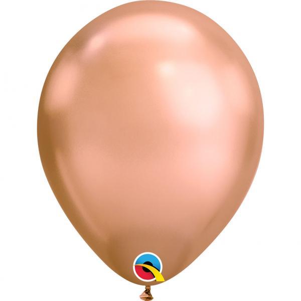 Luftballon Metallic Chrome
