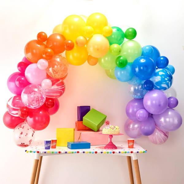 Ballon Girlande Set DIY Bunt