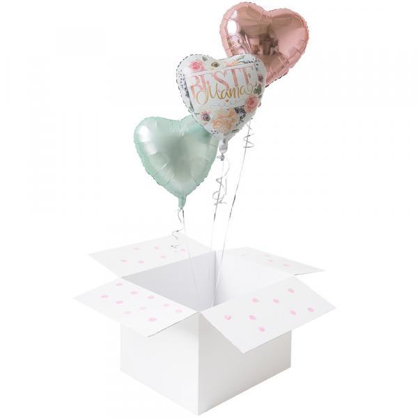 3 Ballons zum Muttertag
