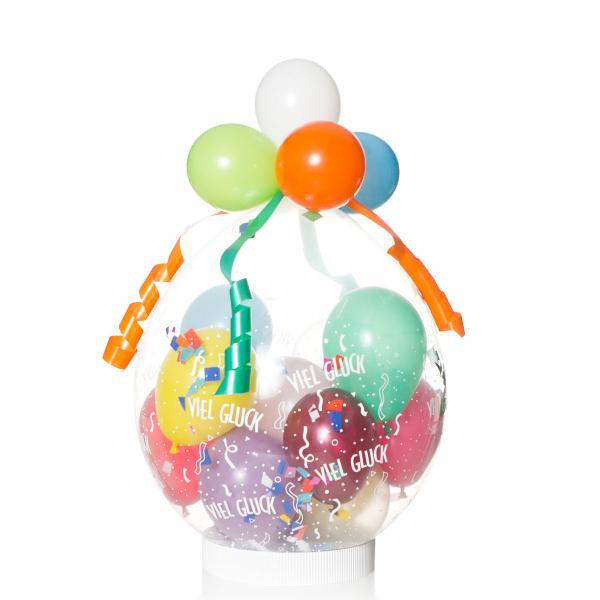 Geschenkballon: Viel Glück
