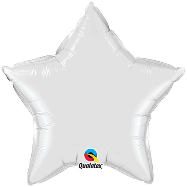 Sternballon weiß
