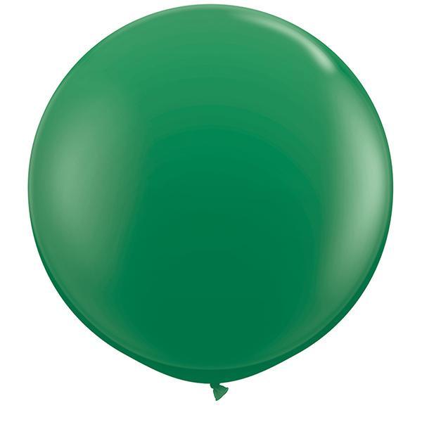 Riesenballon Dunkelgrün