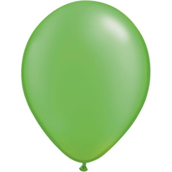 Luftballon Limonengrün