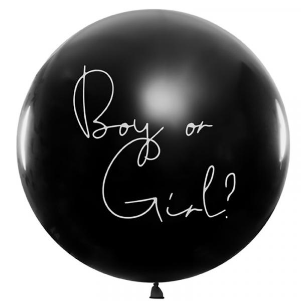 Riesenballon Boy or Girl Gender Reveal