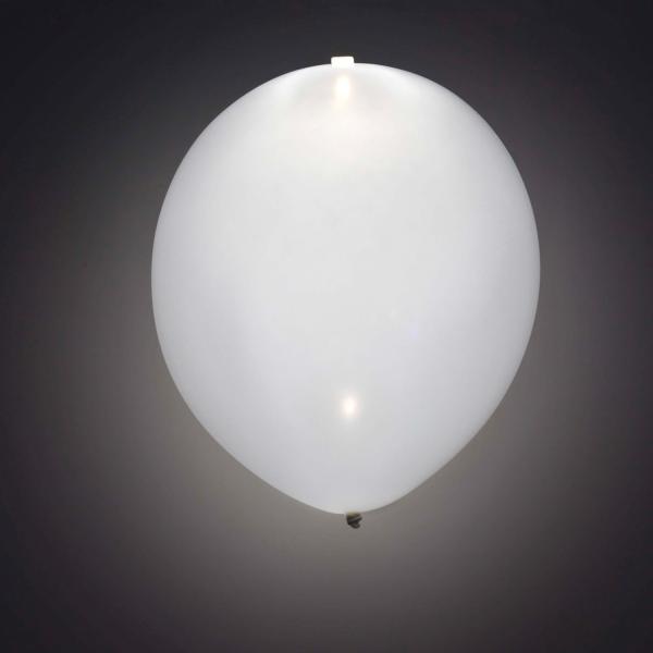 LED BALLON WEISS