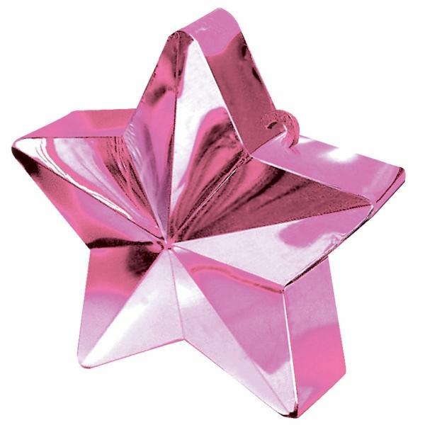 Ballongewicht, Sternform, Pink