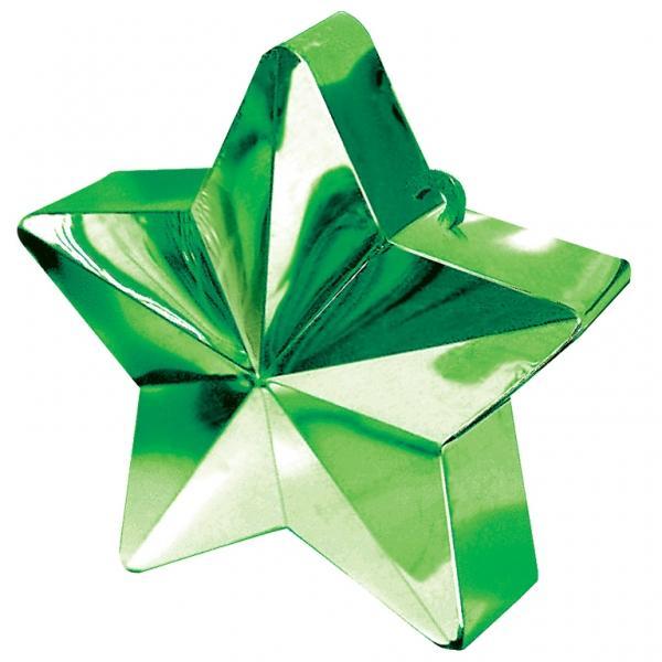 Ballongewicht, Sternform, Grün