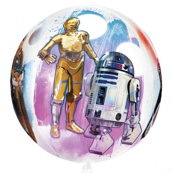 Star Wars Orbz Folienballon 3D