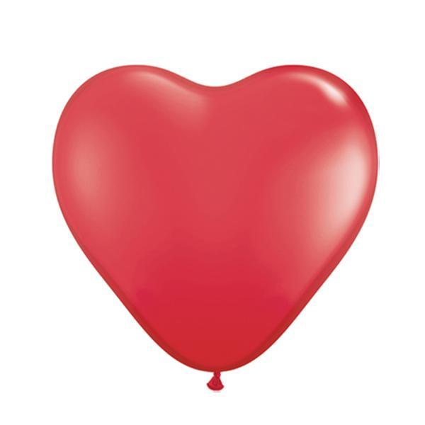Mini Herzballon Rot