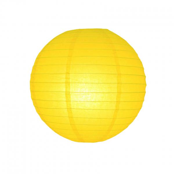 Lampion Gelb 25cm