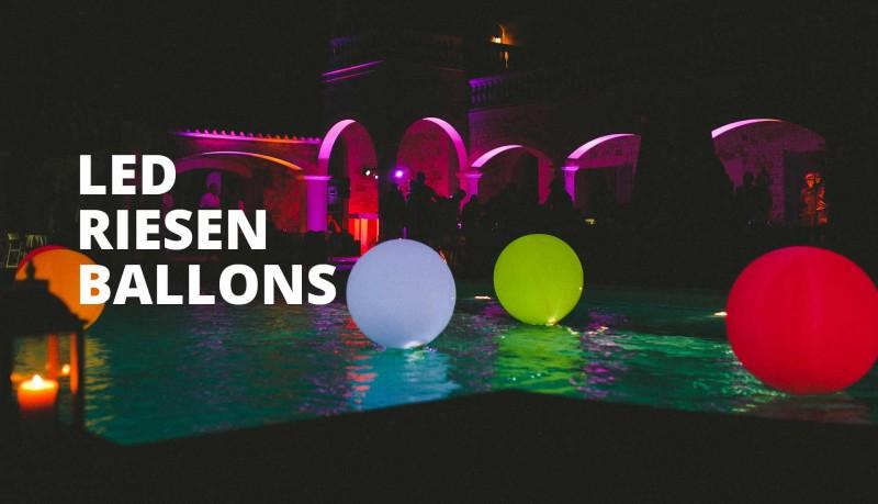 led luftballons helium