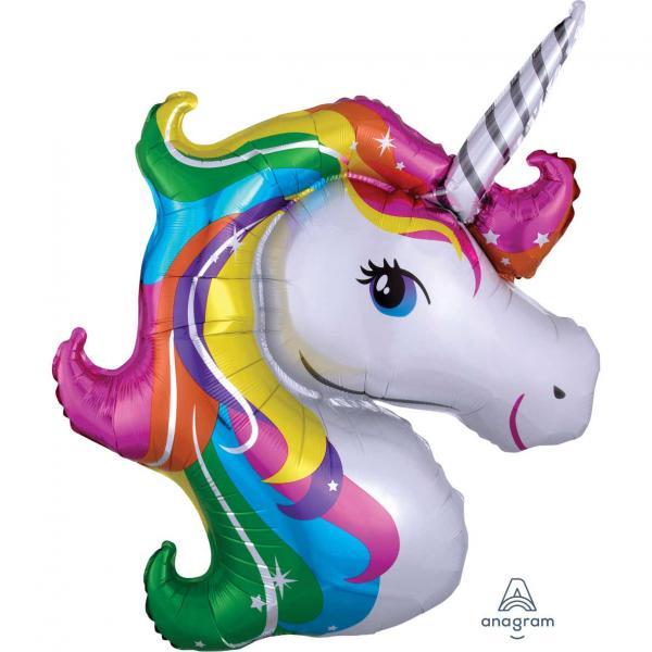 Einhorn Unicorn Folienballon