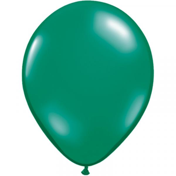 Luftballon Emerald Grün